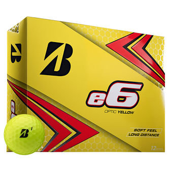 Bridgestone Golf e6 Soft 12 Ball Pack - Image 1