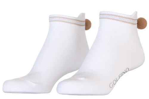 GOLFINO Pompom Functional Ladies Socklets - Image 1