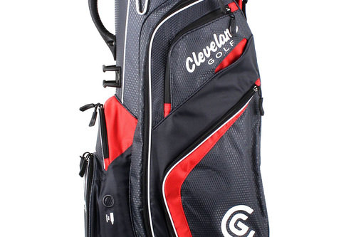 New Cleveland Lite Cart Golf Bag Charcoal / Red H1841 - Image 1