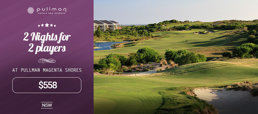 2 Nights Stay For 2 Players at Pullman Magenta Shores Resort
