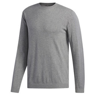 adidas Golf 3-Stripe Sweatshirt - Image 1