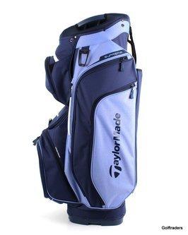 New Taylormade 2020 Supreme Golf Cart Bag Blue / Navy H2256 - Image 1