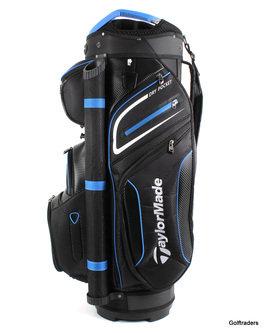 New Taylormade 2020 Premium Golf Cart Bag Black / Blue / White H2255 - Image 1