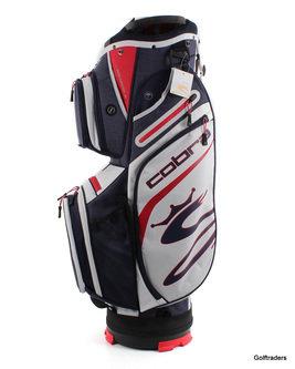 New Cobra UL20 Ultralight Golf Cart Bag Peacoat / High Risk Red - White H2283 - Image 1