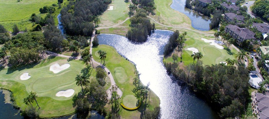 18 Holes For FOUR At The Stunning Palm Meadows With GPS Golf Cart!