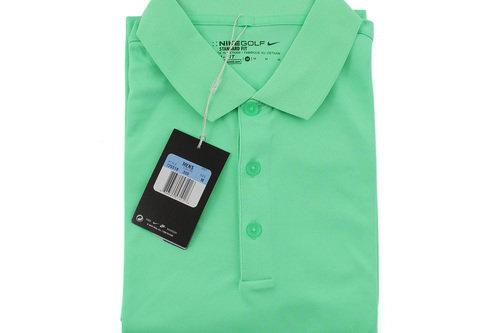 New Nike Golf Men's Dri-Fit Standard Fit Golf Shirt 725518 300 Size M H2827 - Image 1