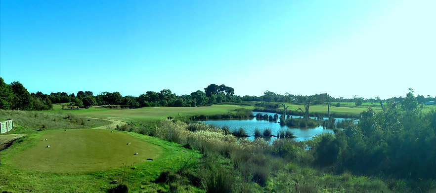 SUMMER SPECIAL! 18 Holes For Two in a Motorised Cart With A Beer Each Afterwards At Settlers Run Golf Club