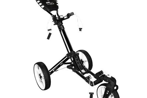 New Prosimmon Icon One Fold Golf Buggy Black / White H3194 - Image 1