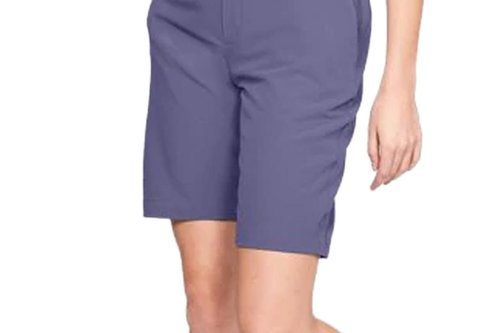 Under Armour Women's Links Shorts - Blue Ink - Image 1