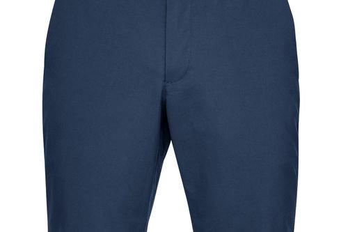 Under Armour Mens Dark Blue Eu Performance Taper Shorts - Image 1