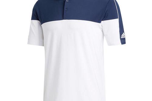 adidas Golf Ultimate365 Blocked Golf Polo Shirt - Image 1