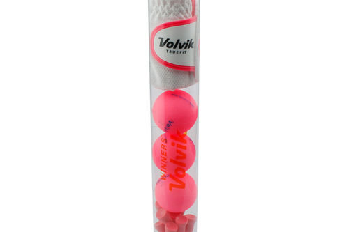 Volvik Pink Stylish Matte Golf Gift Tube Pack with Balls - Image 1
