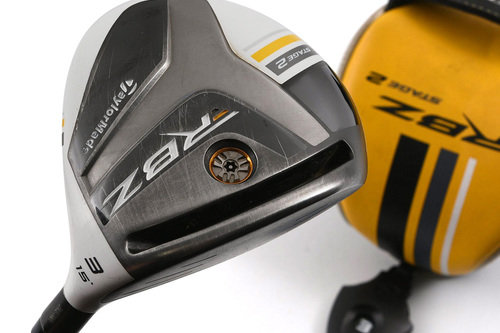 Taylormade Stage 2 3 Fairway Wood 15º Graphite Regular Cover New Grip H3738 - Image 1