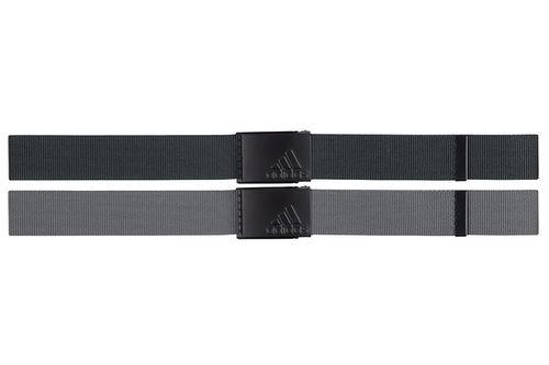 adidas Golf Mens Black Reversible Webbing Belt - Image 1
