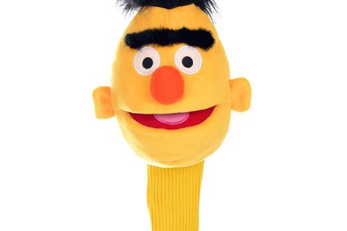 Sesame Street Mens Yellow Bert Golf Head Cover - Image 1