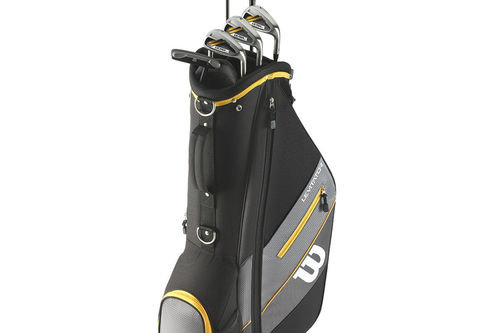 Wilson Ultra XD Mens Black and Yellow Stylish Right Hand Carry Half Package Set - Image 1
