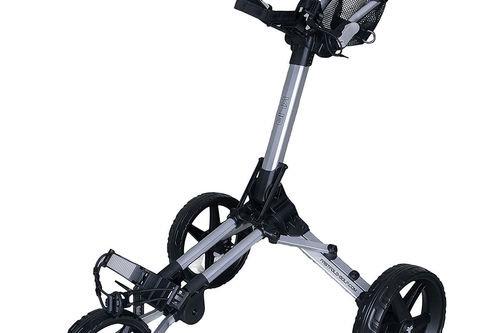 Fast Fold Kliq 3 Wheel Push Golf Trolley - Image 1