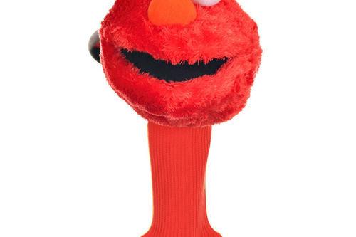 Sesame Street Mens Red Elmo Golf Head Cover - Image 1