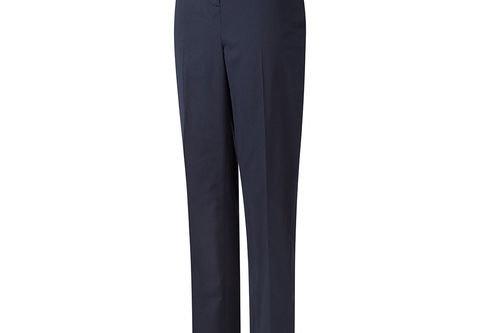 PING Ladies Navy Blue Lightweight Aimee Regular Fit Golf Trousers - Image 1