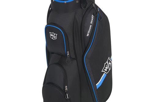 Wilson Staff Blue and Black Lightweight Lite II Golf Cart Bag - Image 1