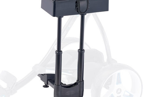 Motocaddy Blue Comfortable S-Series Deluxe Golf Seat - Image 1
