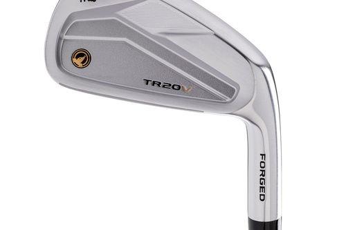 Honma Red TR20V Right Hand Regular Steel 5-11 7 Golf Irons - Image 1