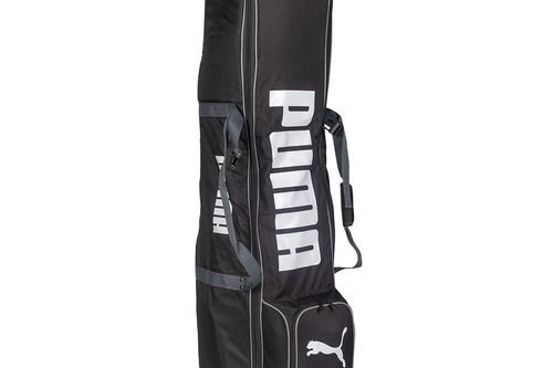 PUMA Golf Black and White Wheeled Travel Cover - Image 1