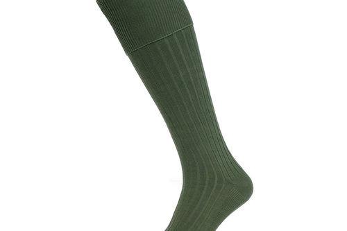 Stromberg Mens Green Knitted Lovat Golf Socks - Image 1