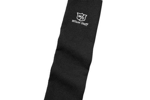 Wilson Staff Black Lightweight Microfiber Trifold Towel - Image 1