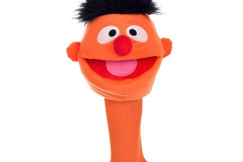 Sesame Street Mens Orange Ernie Golf Head Cover - Image 1
