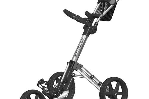 Fastfold Mission 5.0 3 Wheel Push Golf Trolley - Image 1