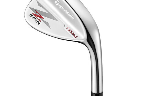TaylorMade Silver Z-Spin Right Hand Steel Wedge - Image 1