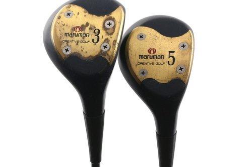 Maruman Ladies 3 & 5 Fairway Wood Set Graphite Ladies Flex New Grips H890 - Image 1