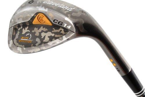 Rare Cleveland CG14 Camo Lob Wedge 60.12 Steel Wedge Flex New Grip H4634 - Image 1