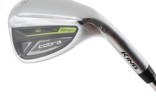 "New Cobra King Rad Speed Gap Wedge Steel Stiff Flex 1"" Longer H4673 - Image 1"