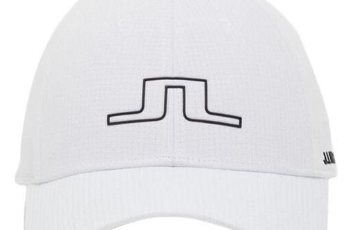 J.Lindeberg Caden Cap - White - Image 1