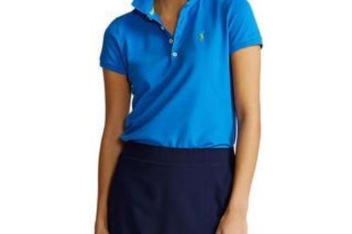 Polo Golf Ralph Lauren Women's Tailored Fit Polo Shirt - Blue - Image 1