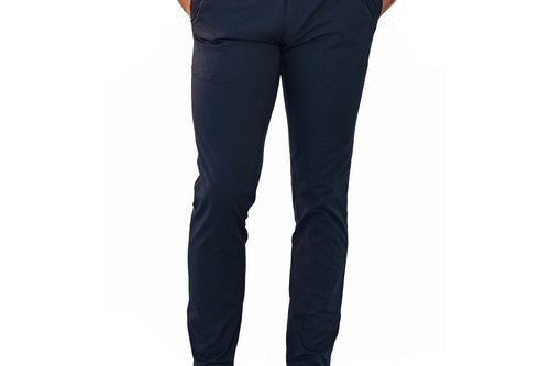 Cross Byron Tech Chino Golf Pants - Navy - Image 1