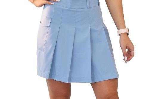 Cross Women's Pleat Skort - Forever Blue - Image 1