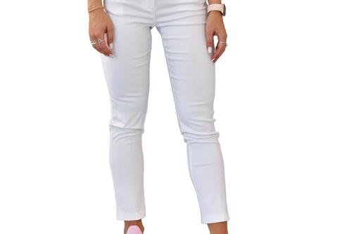 Cross Women's Stretch Pant 7/8 - White - Image 1