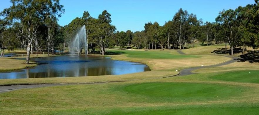 One of Sydney's Top Courses! 18 Holes For TWO with a Motorised Cart plus Drinks at Riverside Oaks Golf Resort!