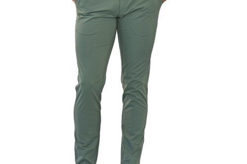 Cross Byron Tech Chino Golf Pants - Green - Image 1