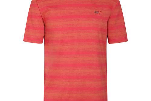 Greg Norman Print Stripe T-Shirt - Image 1