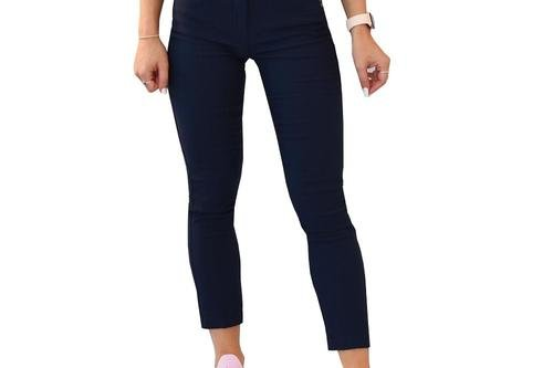Cross Women's Stretch Pant 7/8 - Navy - Image 1