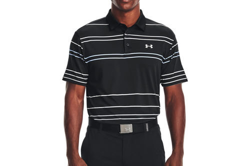 Under Armour 2.0 Pitch Stripe Golf Polo Shirt - Image 1