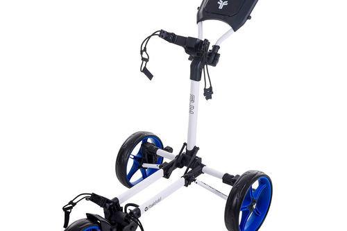 Fast Fold Slim 3-Wheel Push Golf Trolley - Image 1