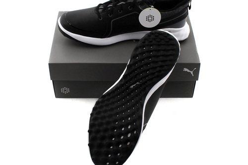 New Puma Grip Fusion 2.0 Mens Golf Shoes Black-Quiet Shade Size 10.5 US H6216 - Image 1