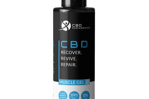 CBD Performance Muscle Gel 1000mg - Image 1