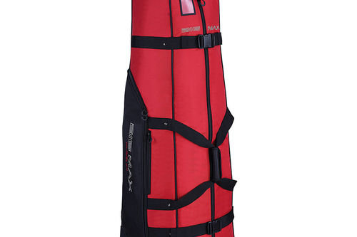 Big Max Red and Black Traveller Golf Travel Cover - Image 1
