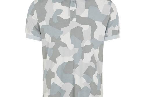 J.Lindeberg Tour Tech Print Golf Polo Shirt - Image 1